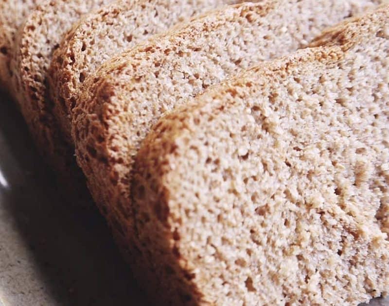 100% Whole Grain Bread (Bread Machine)