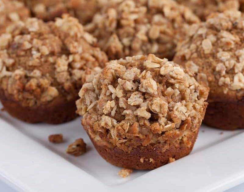 Applesauce Granola Muffins