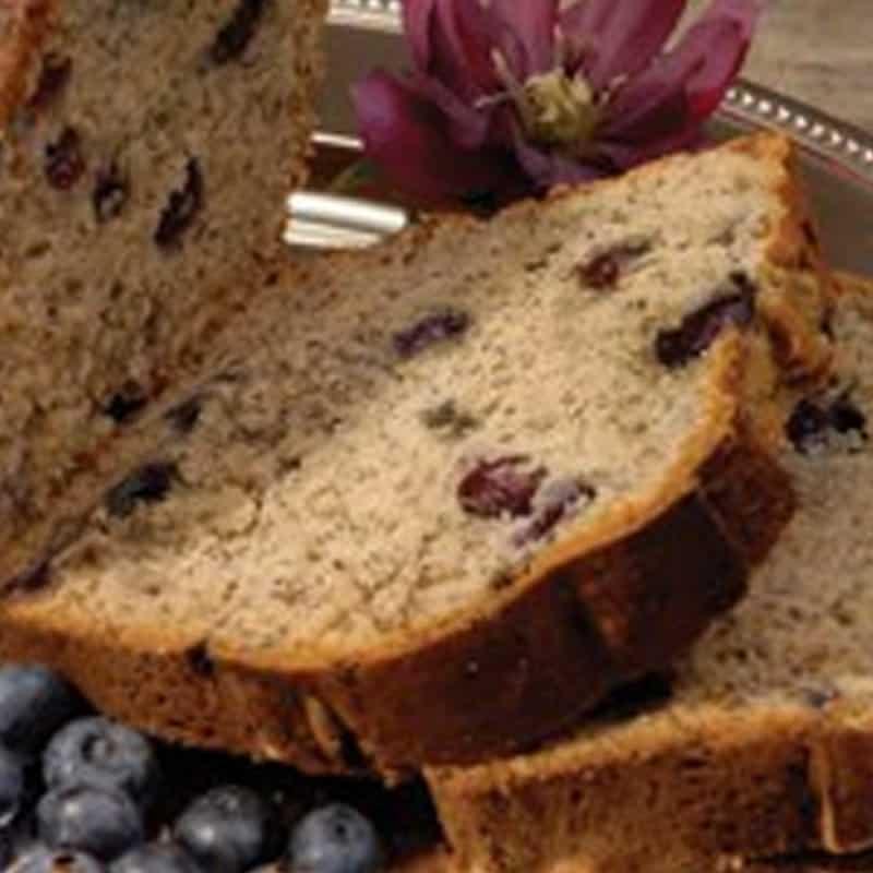 Blueberry Banana Loaf