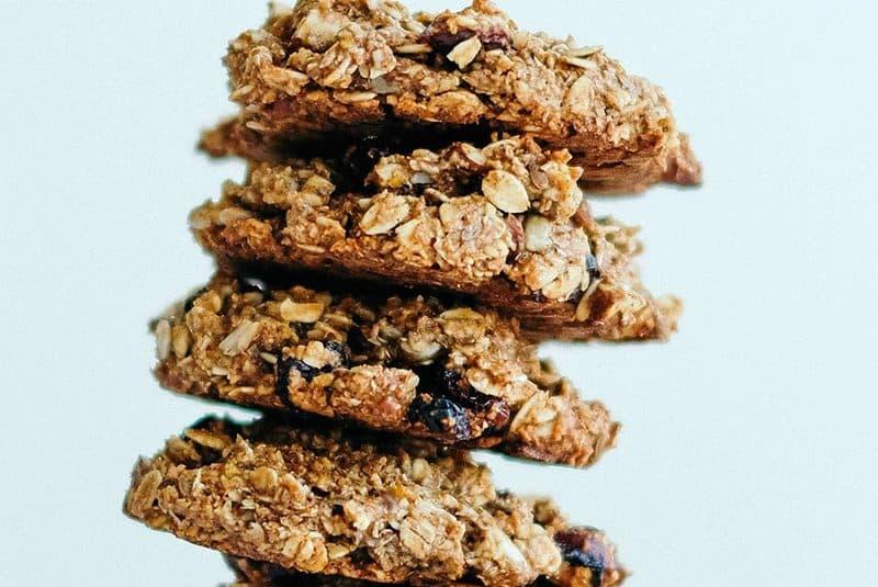 Porridge Oats Healthy Grains Breakfast Cookies