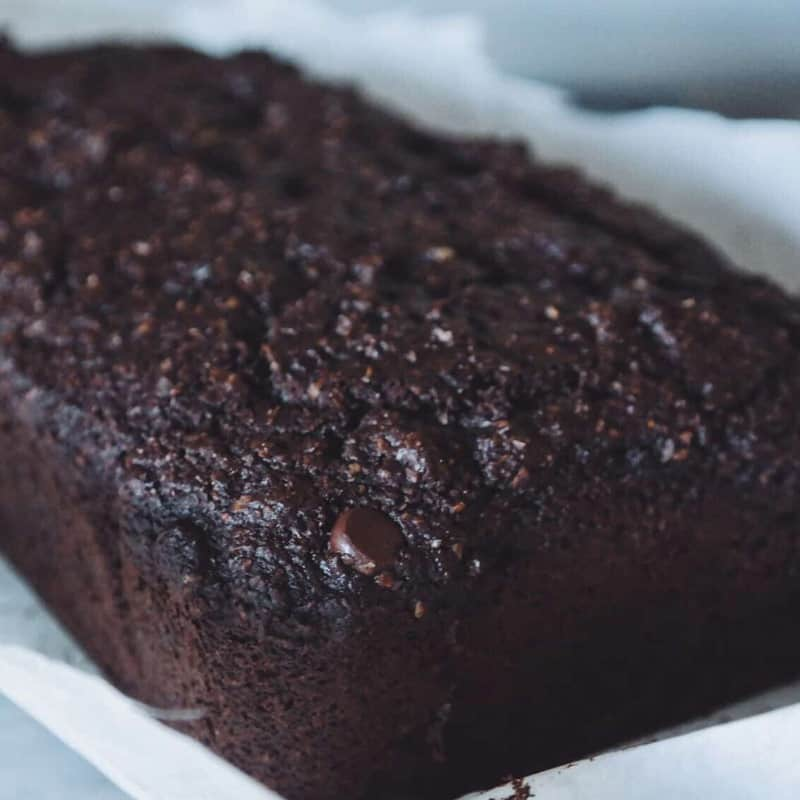 Chocolate Oat Bran Loaf
