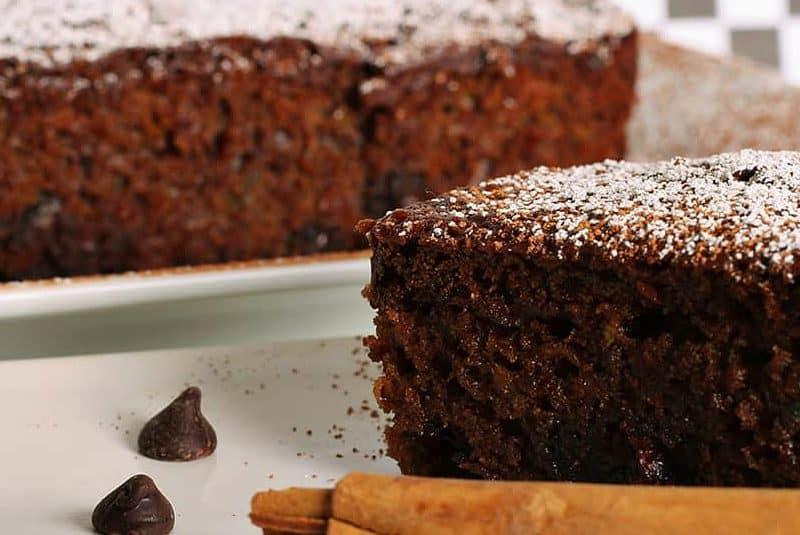 Chocolate Zucchini Layer Cake