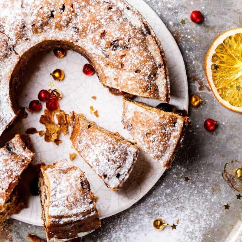 Cranberry Orange Snackin' Cake