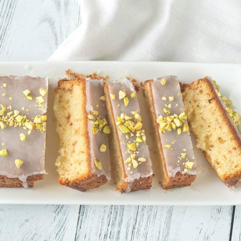 Crumb Crust Lemon Cake