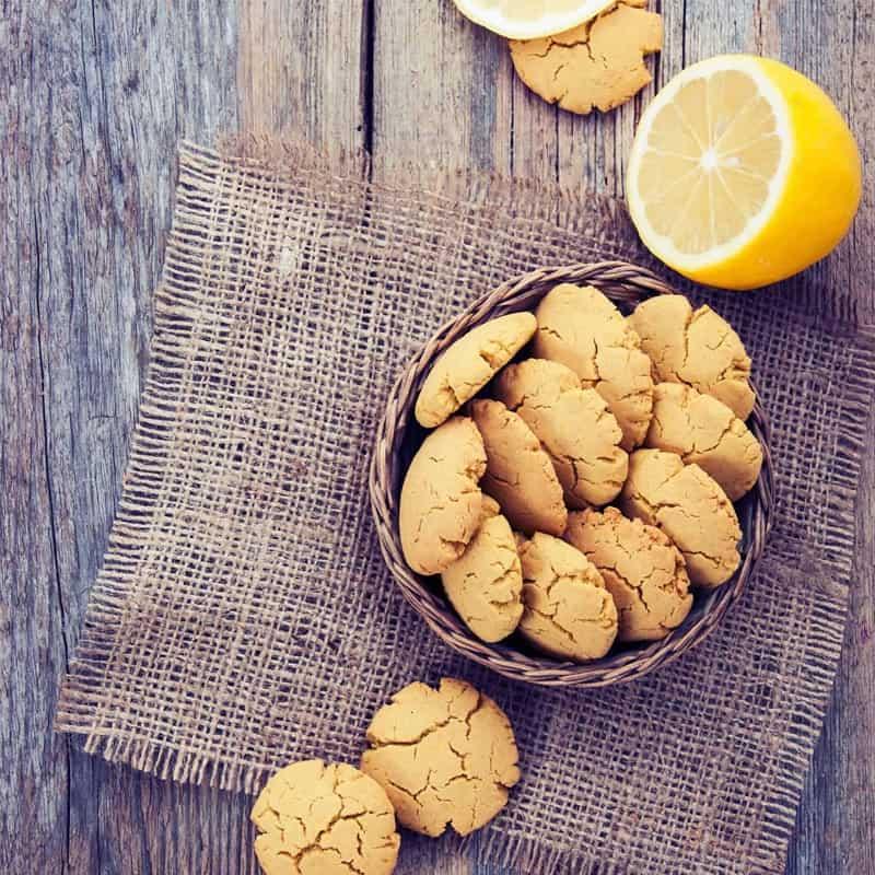 Lemon Rhubarb Cookie