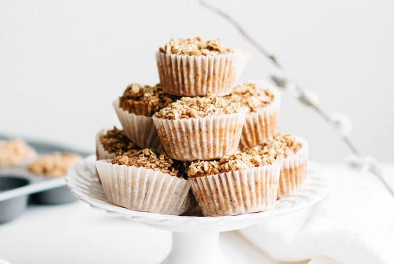 Bake Ahead Oatmeal Cups
