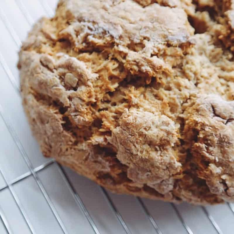 Oats & Honey Whole Wheat Quickbread