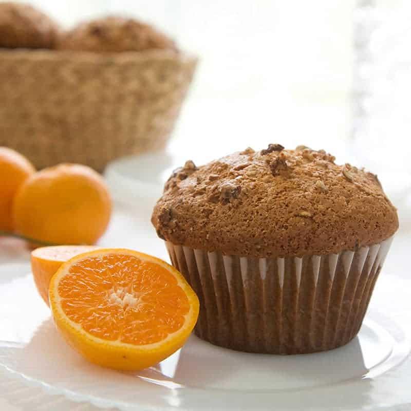 Orange Granola Muffins