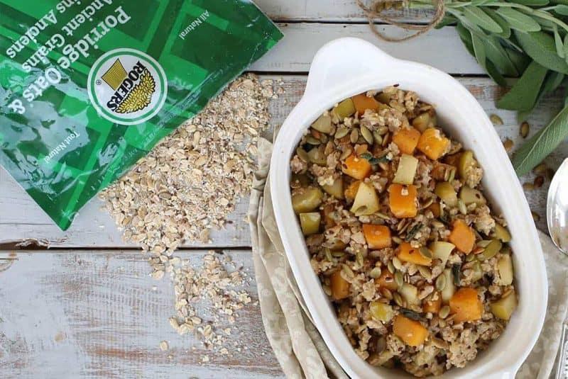 Porridge Oats & Ancient Grains Maple Butternut Squash and Apple Stuffing