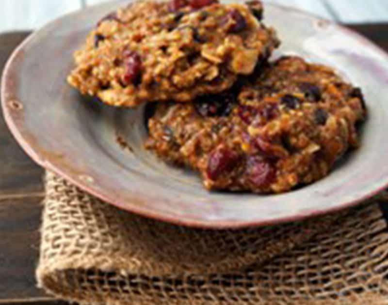 Steel Cut Porridge Oats Breakfast Cookies