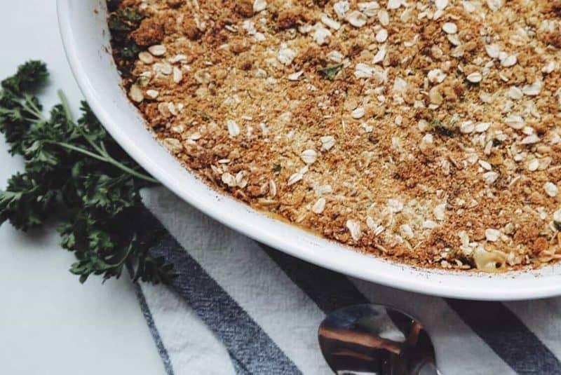 Sweet Potato, Apple and Turkey Bake